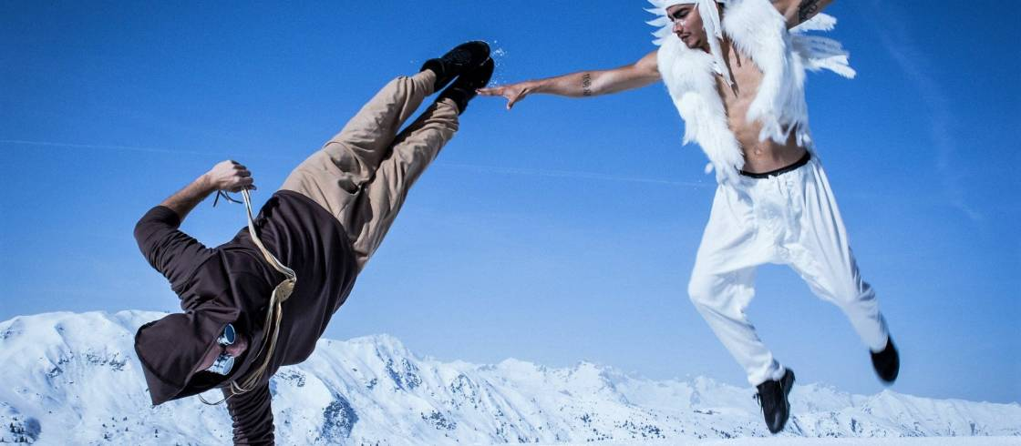 La Folie Douce Courchevel Festival, where urban and electro music takes over the slopes to close the spring ski season with a blast