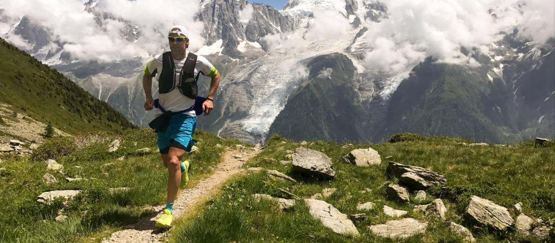 Trailrunning in Chamonix, in de Franse Alpen