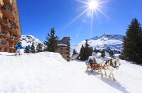 Calèche Avoriaz (c) Savoie Mont Blanc Scalpfoto