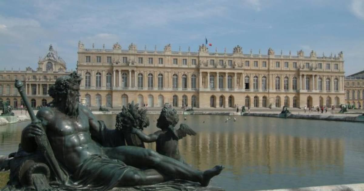 Paleis Van Versailles Tuin.Kasteel Van Versailles