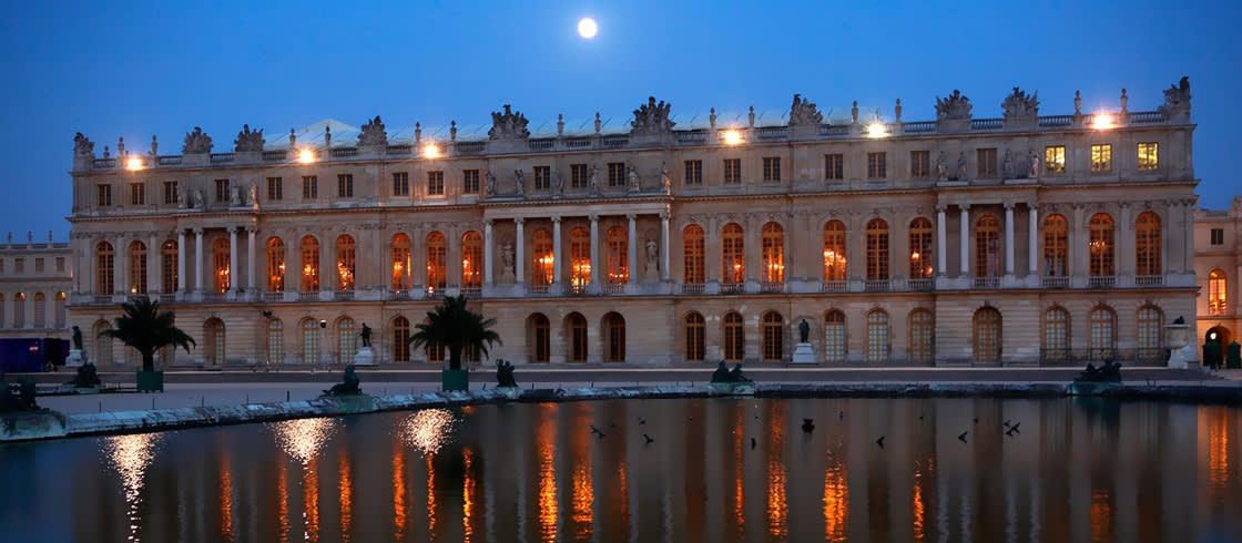 Castillo de Versalles, uno de los mayores sitios del patrimonio mundial.