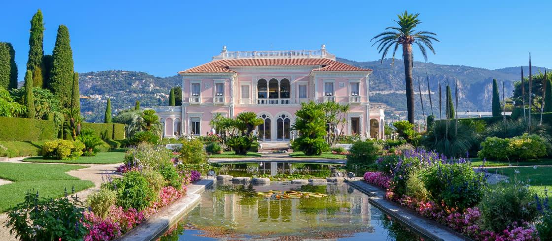Die Villa Ephrussi de Rothschild mit ihren bezaubernden Gärten