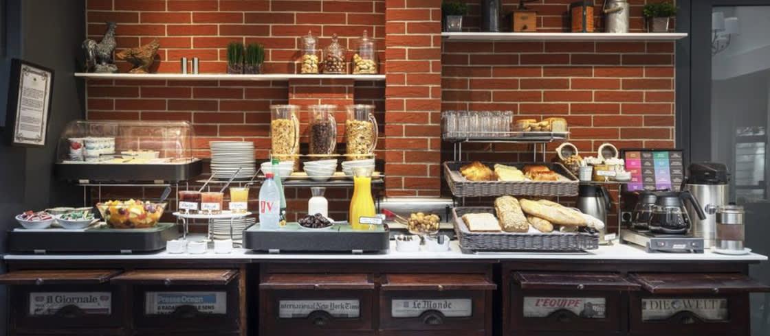 Frühstücksbuffet - von Besuchern oft gelobt