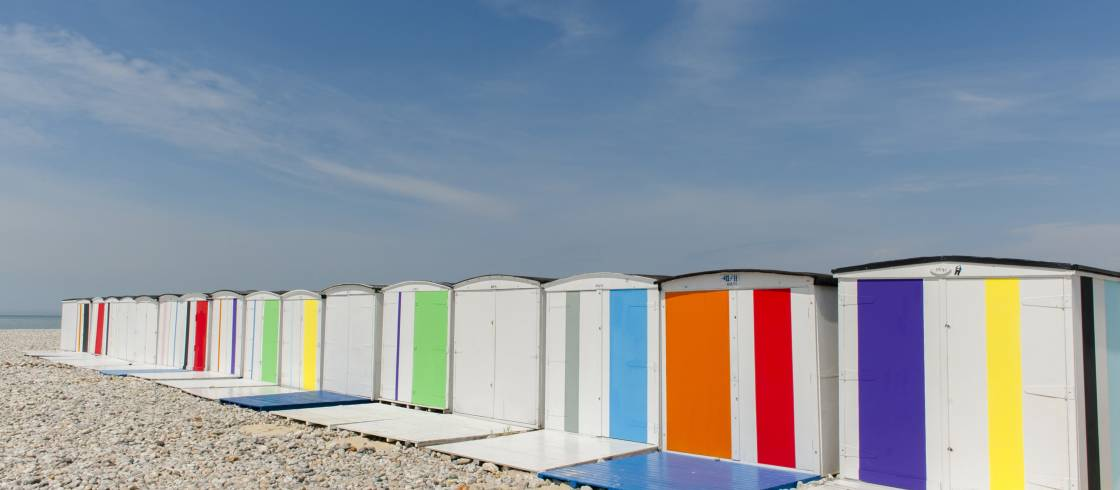 Colors on the beach - Le Havre