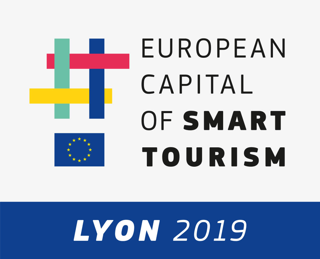 European Capital Smart Tourism Lyon hoch grau RGB