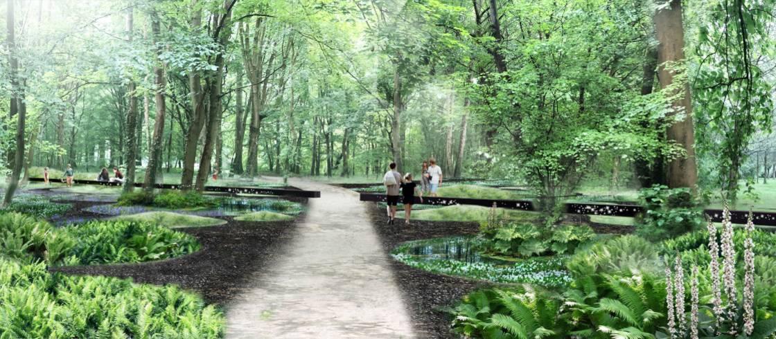 Altos de Francia inaugura los Jardines de la Paz