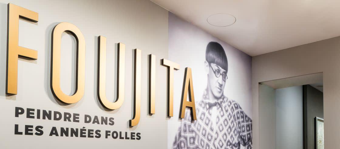 L'exposition illustre le bouillonnement de la première période parisienne de Foujita.