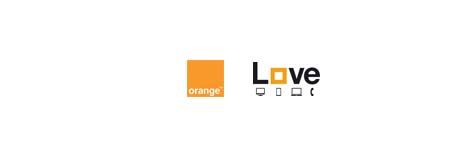 Orange Love logo