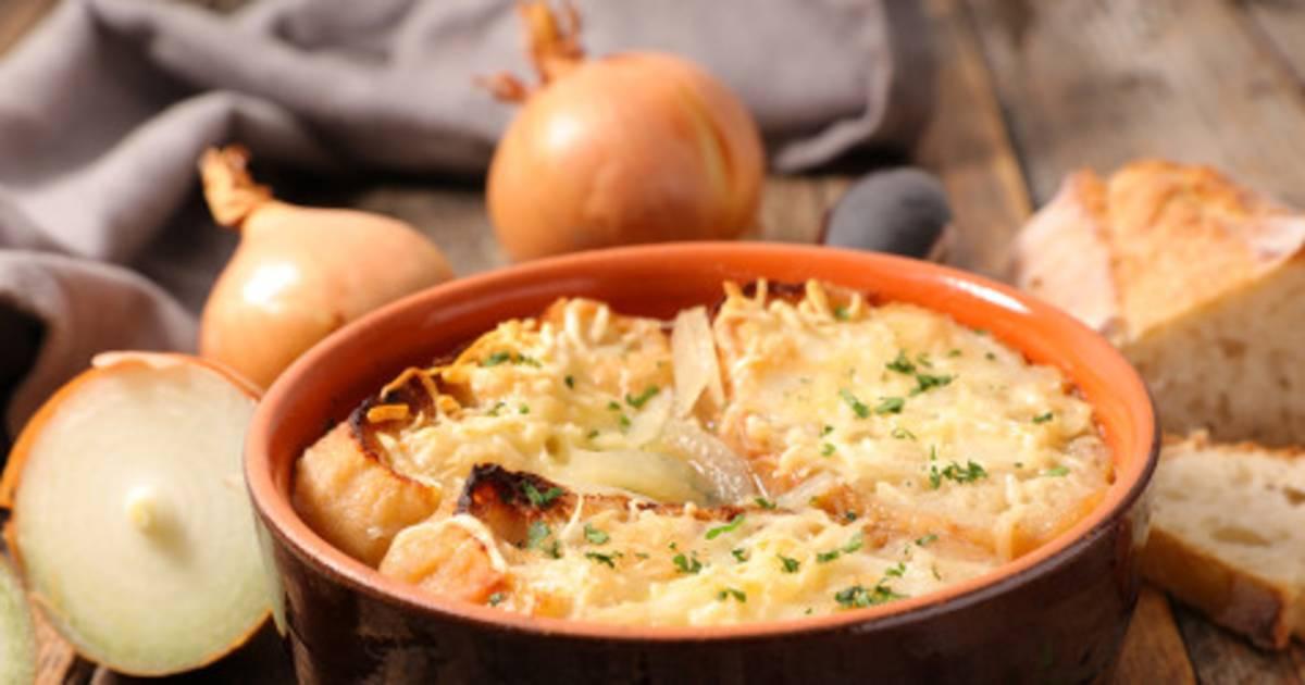 Ricetta Zuppa Cipolle Francese.Ricetta Francese Soupe A L Oignon Zuppa Di Cipolle