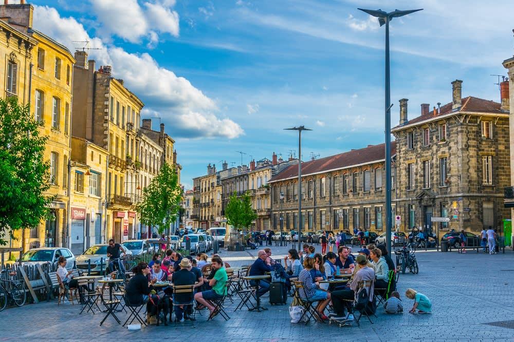 Place Meynard in Bordeaux