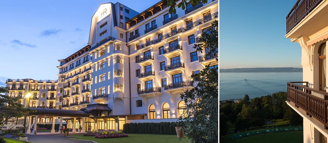 Palace: make yourself at home at the Hôtel Royal Evian