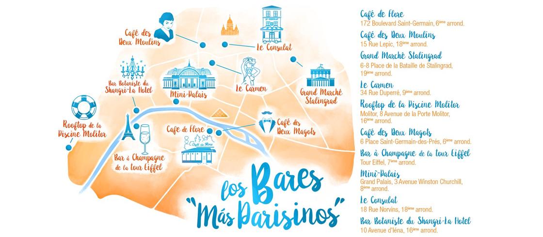 """Los bares más """"parisinos"""""""