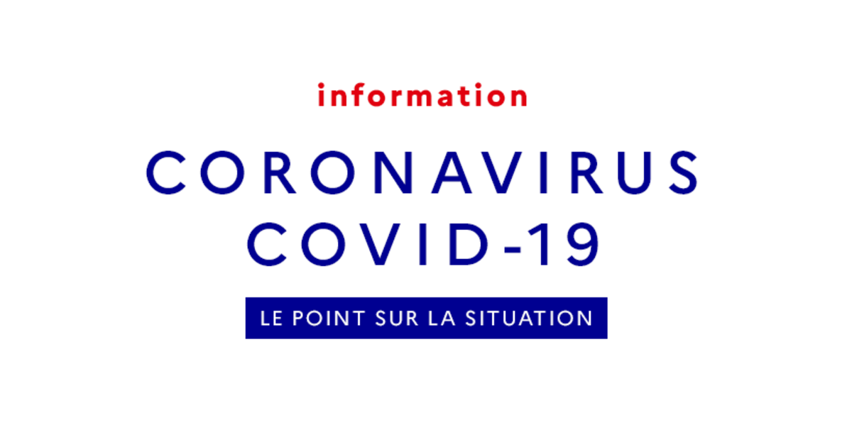 Coronavirus Covid 19 The Situation In France