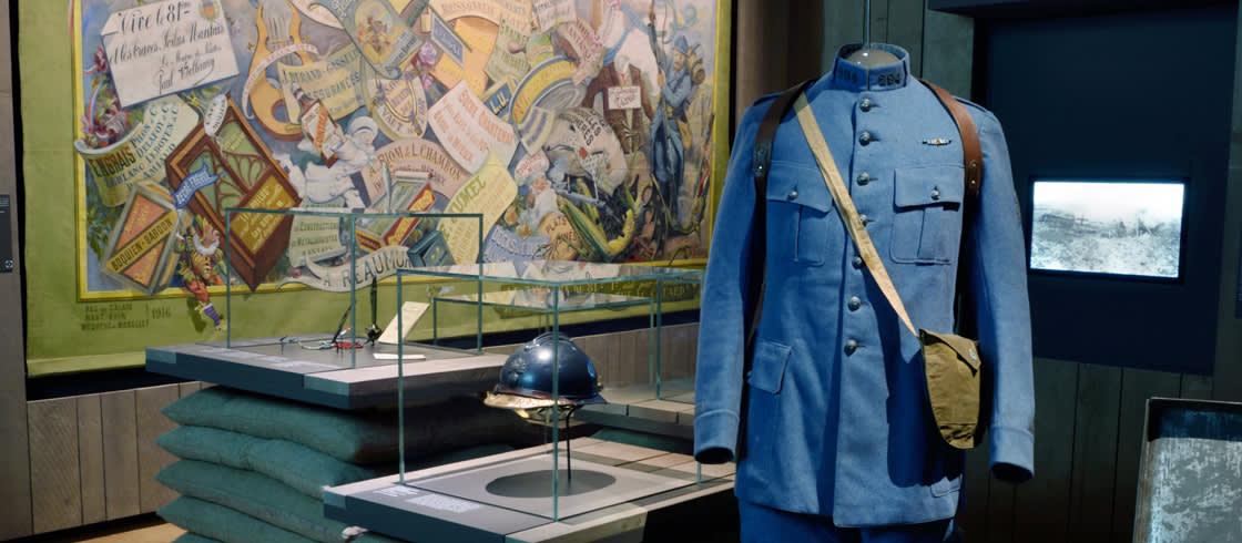 Details der Ausstellung im Geschichtsmuseum (Musée d'histoire) von Nantes