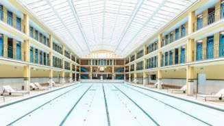 Molitor, art-decozwembad omgebouwd tot hotel in Parijs