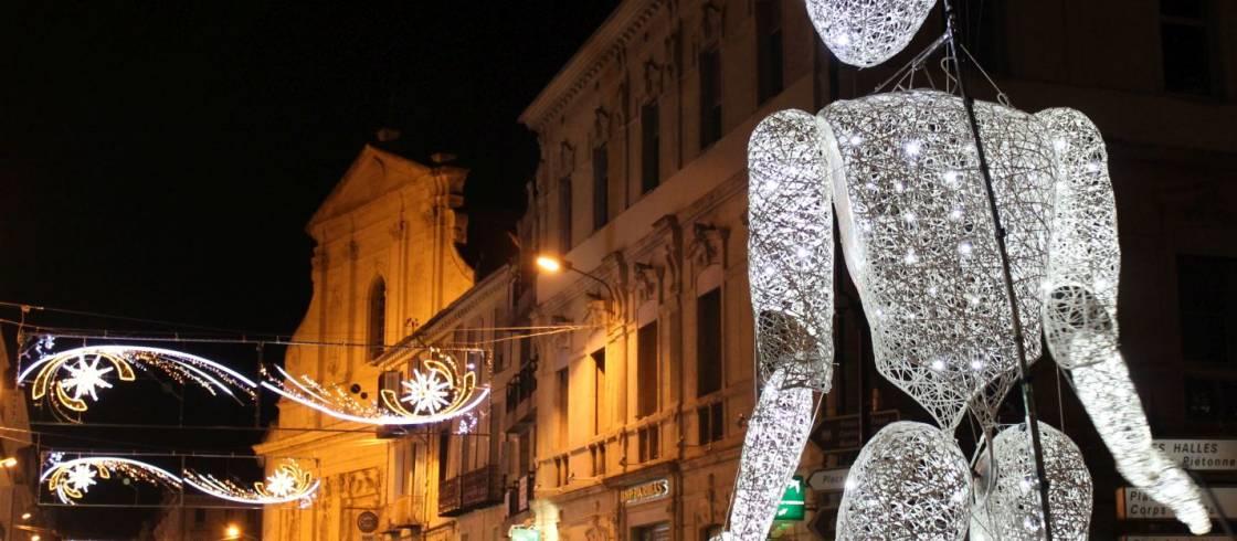 Kerstmarkt In Avignon