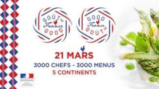 In March 2021, enjoy the Gout de France/Good France event.