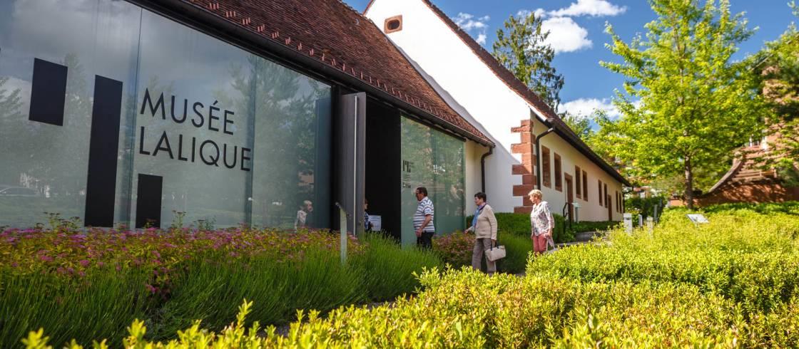 Entrada al Museo Lalique-Museo Lalique en Alsacia