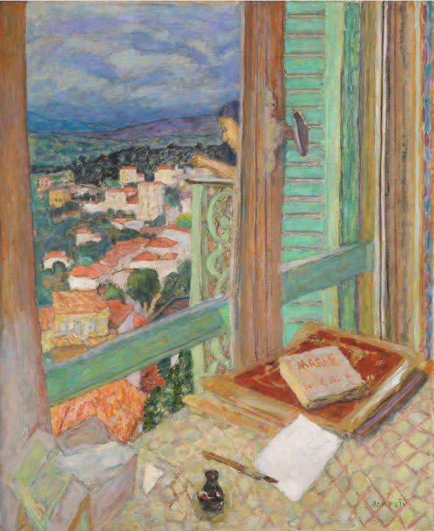Das Fenster / La Fenêtre, 1925, Öl auf Leinwand, 108,6 × 88,6 cm  Tate. Presented by Lord Ivor Spencer Churchill through the Contemporary Art Society 1930, N04494