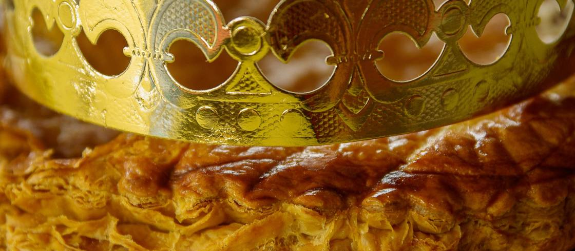 A delicious tradition for Epiphany, galette des rois (King Cake) is prepared in puff pastry with a sweet cream in France.