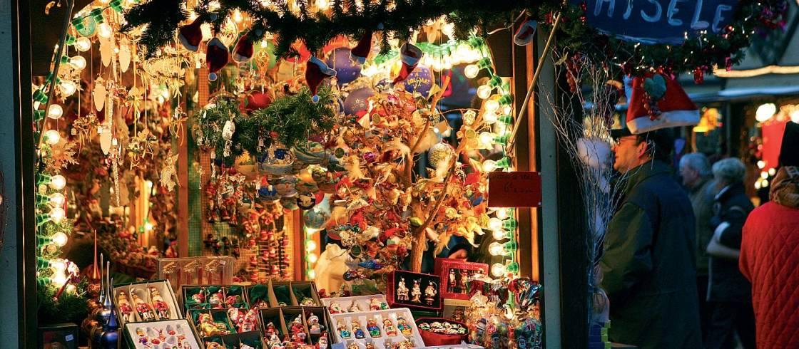 Colmar Weihnachtsmarkt.Weihnachtsmarkt In Colmar