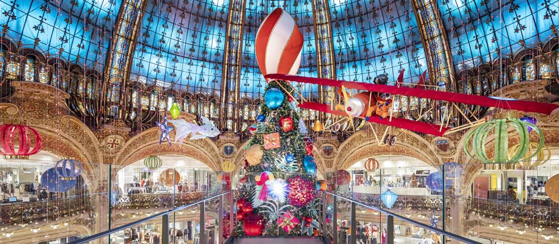 갤러리 라파예트 2020 크리스마스