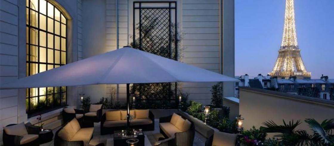 The Shangri-La Hotel: a unique terrace in the heart of Paris