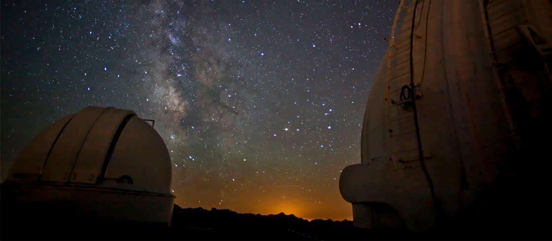 En la Reserva Internacional del Cielo Estrellado del Pico del Midi.