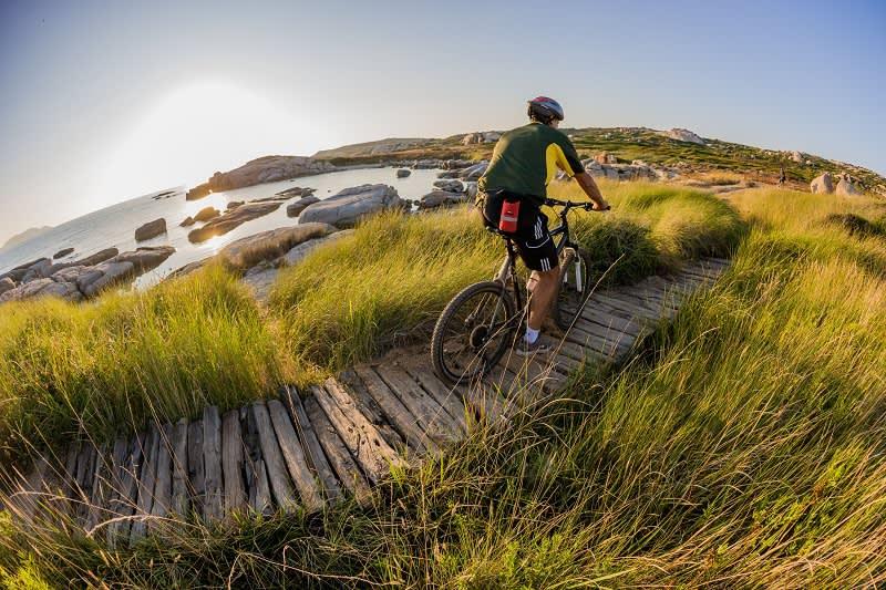 Die Insel von Spano auf Korsika gehört zu den schönsten Radstrecken Korsikas
