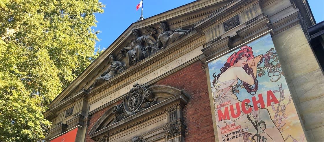 Le Musee Du Luxembourg Consacre Une Exposition A Alphonse Mucha Peint