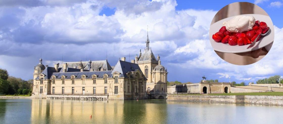 Chantilly creme and Chateau