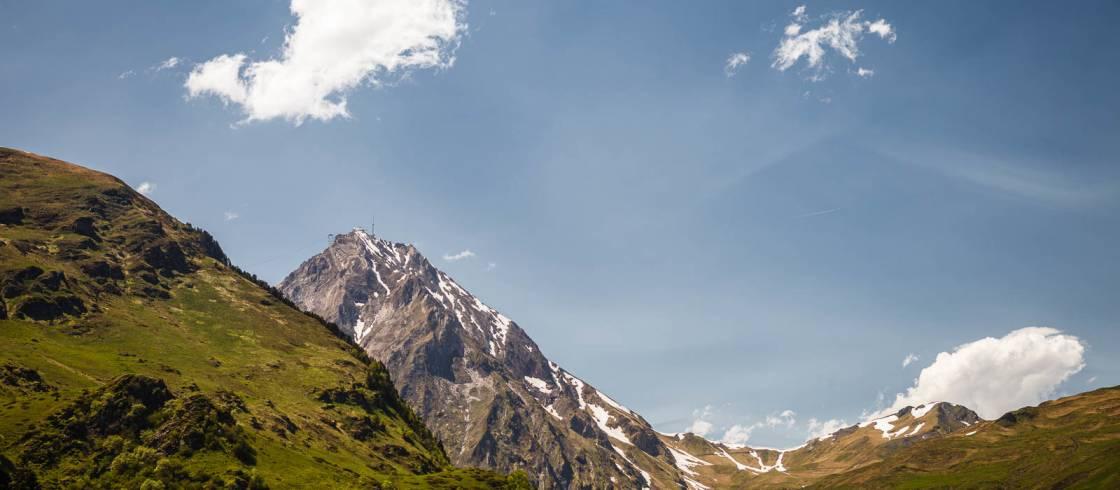 Pic du Midi desde la carretera