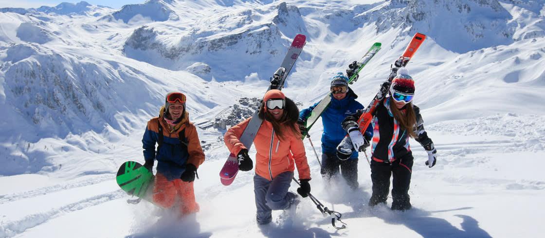 Skiurlaub in Frankreich
