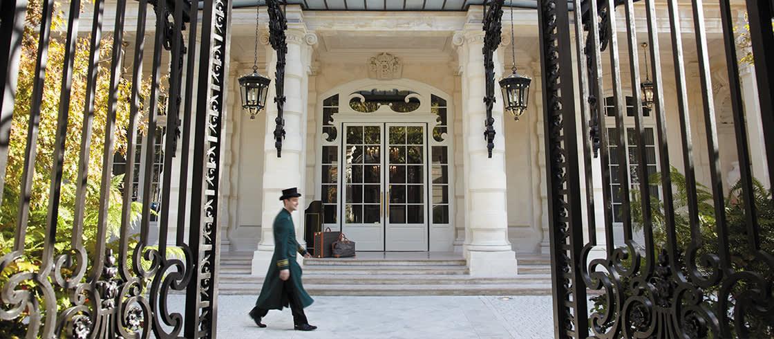 La entrada del Palace, en el número 10 de la avenida Iéna