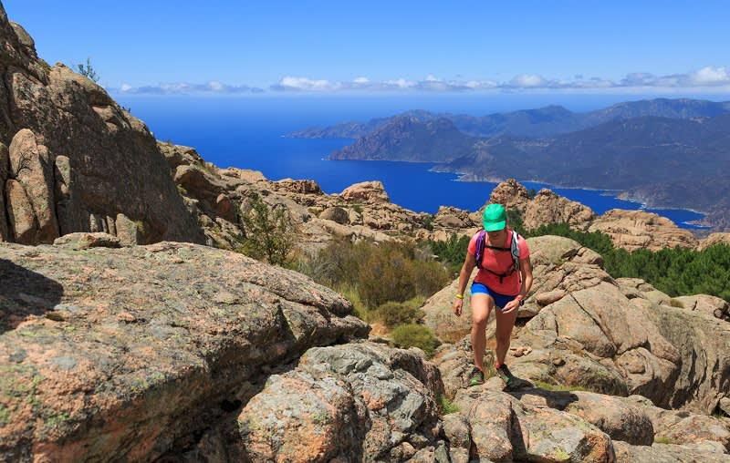 Wandern zwischen Meer und Bergen auf Korsika