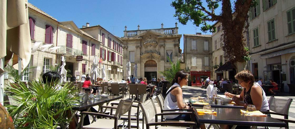 Plaza Crillon en Avignon