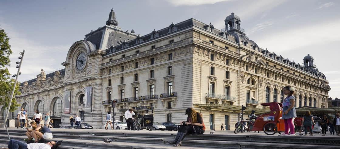 El museo de Orsay, una arquitectura industrial convertida en una obra de arte
