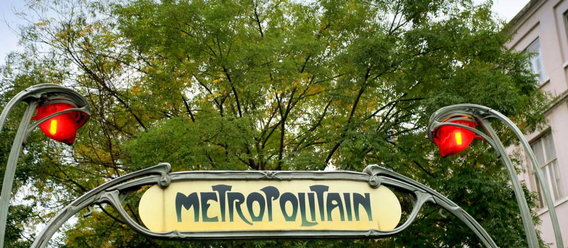 Öffentliche Verkehrsmittel in Paris