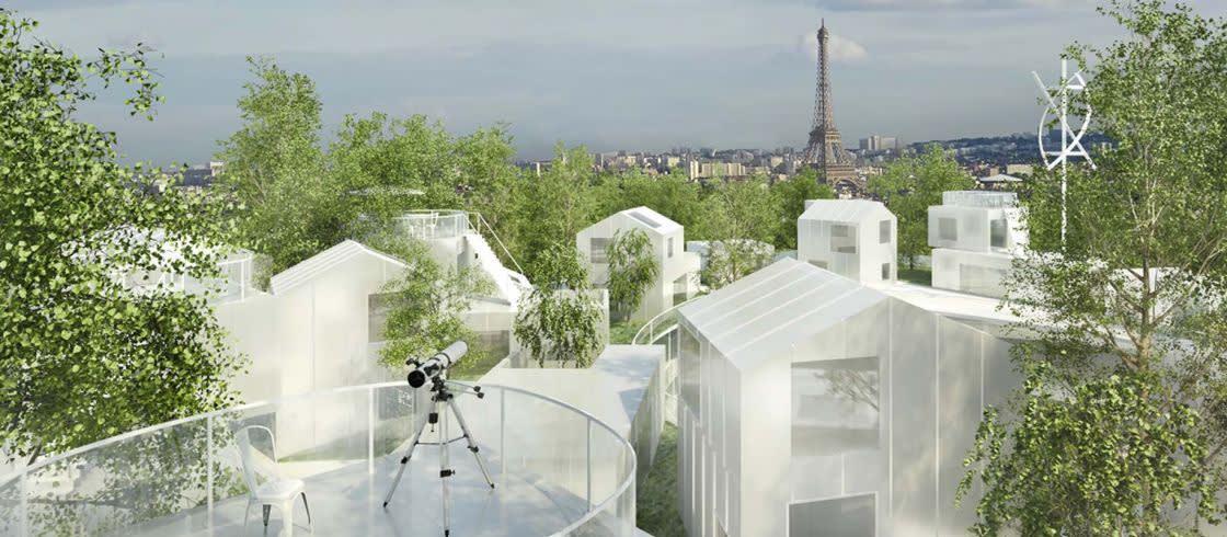 エッフェル塔が「光の都パリ」の象徴であるように、これからお目見えする新たな建造物が、「グラン・パリ」のシンボルとなるだろう。