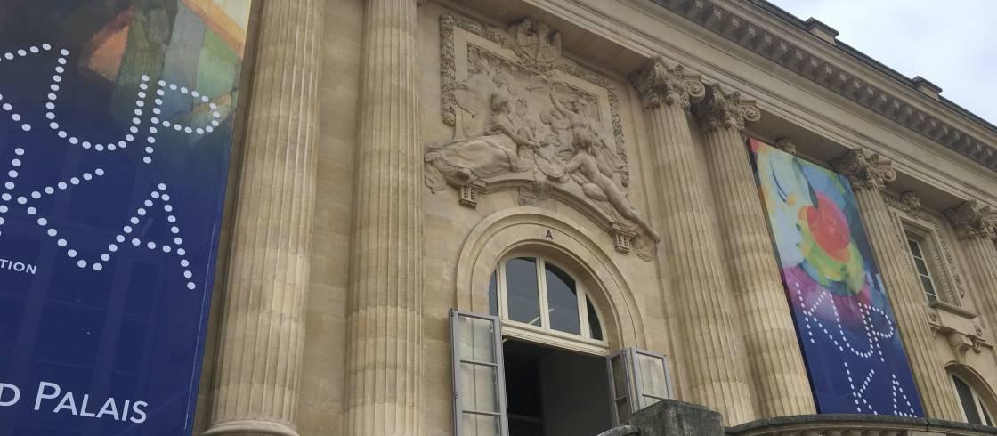 Fachada del Grand Palais de Paris