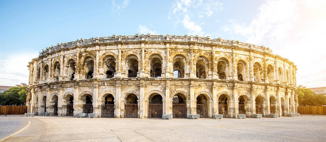 Rustdag in Nîmes: het peloton in de schaduw van het amfitheater