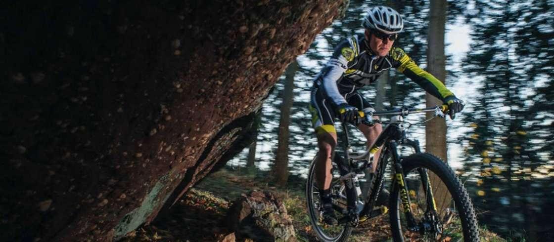 Suisse d'Alsace i Frankrig, mountain biking
