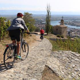 Route des vins à Chapelle-Hermitage - (c)Office de tourisme Ardèche Hermitage
