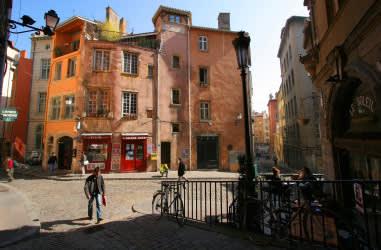 "Lyon har et charmerende gammelt bykvarter ""Vieux Lyon"""