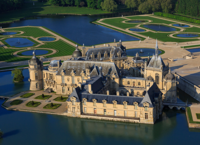 Chantilly's domaine