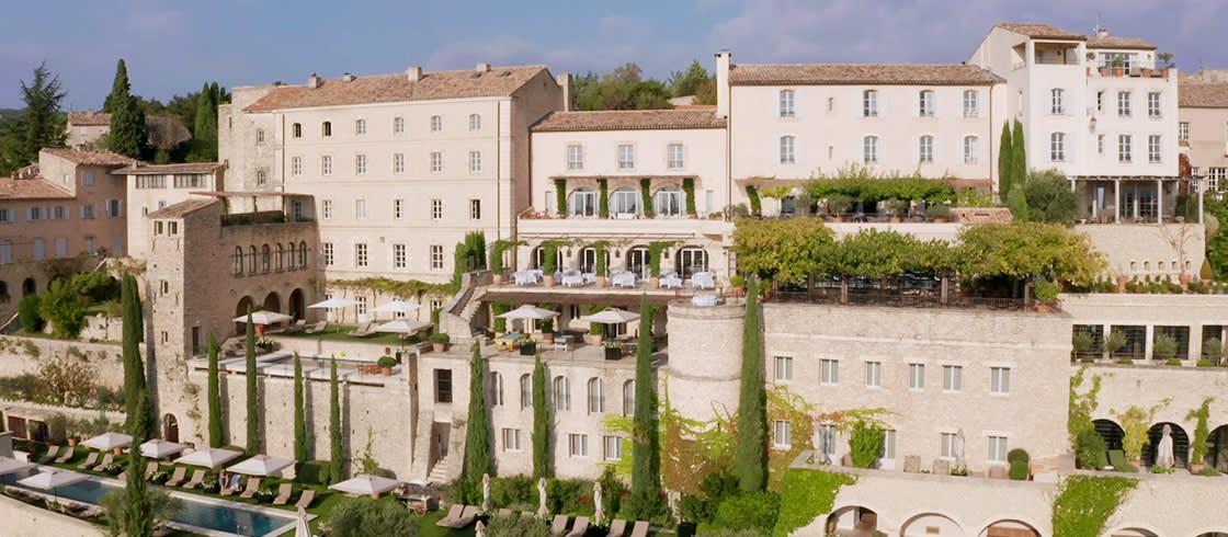 法国皇宫级酒店 –普罗旺斯戈尔德斯巴斯蒂德,越桔林酒店- 内含视频