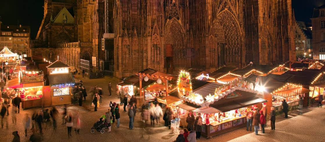 Mercados De Navidad En Alsacia Solicita El Programa