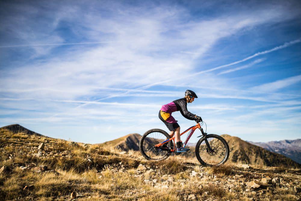 Horské terény v okolí Nice jsou ideální pro milovníky horských kol