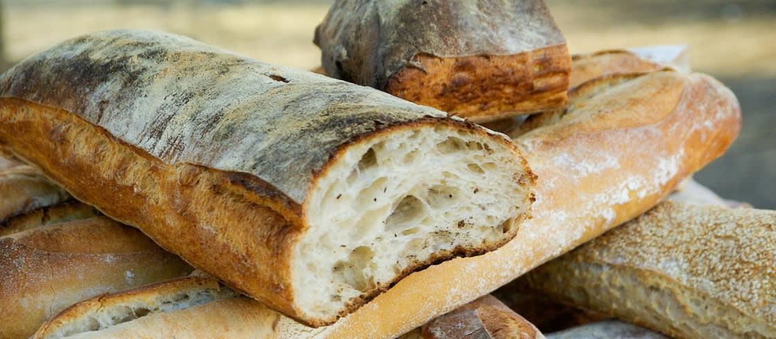 Beste broodbaguettes van Parijs