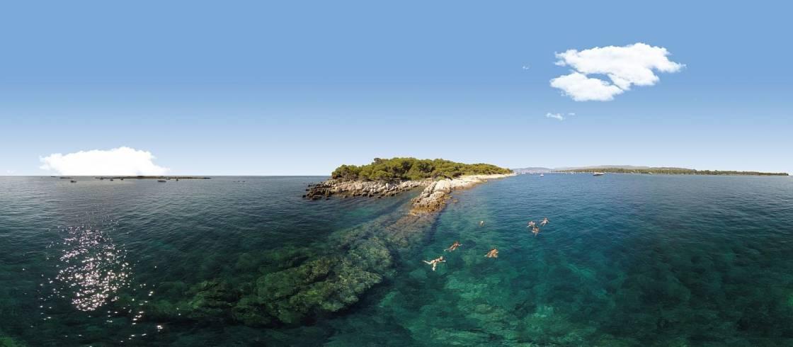 Die Lérins-Inseln an der Côte d\'Azur